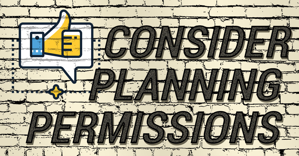 planning permissions