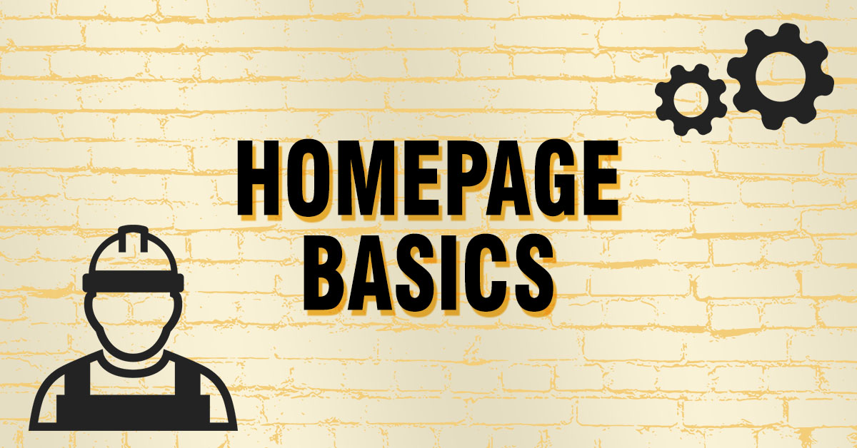 homepage basics feature image