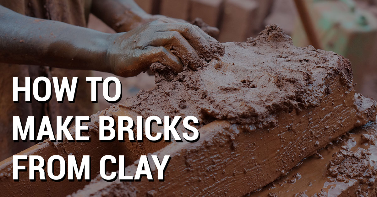 bricks from clay