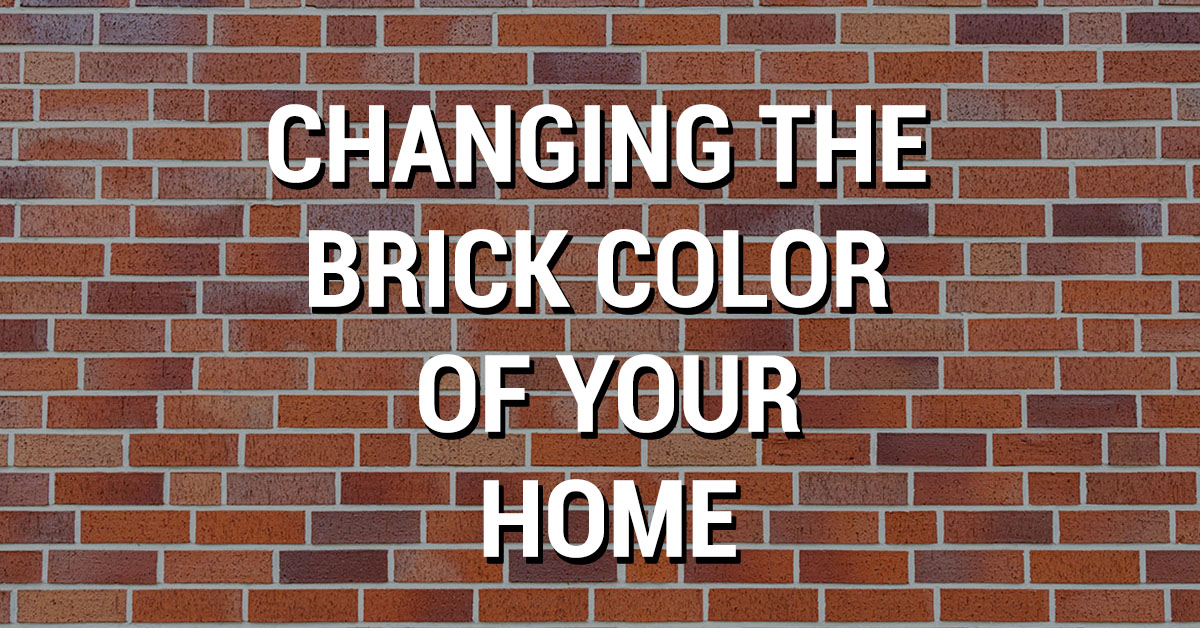 change brick color