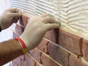 Brick veneer process
